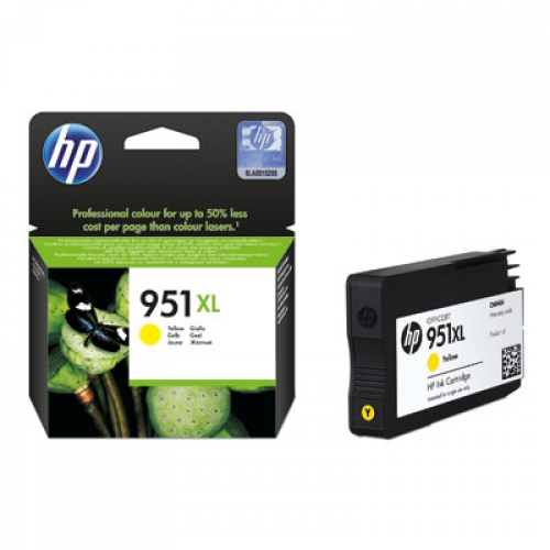 Mực in HP 951XL Yellow Officejet Ink Cartridge (CN048AE)
